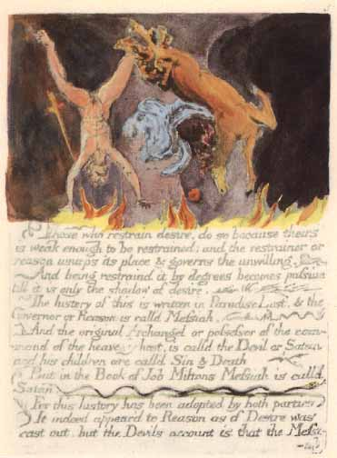 The Wm  Blake Page - The Marriage of Heaven and Hell