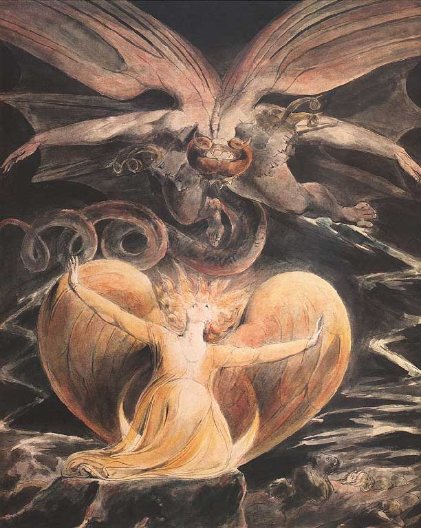 The William Blake Page - Paintings